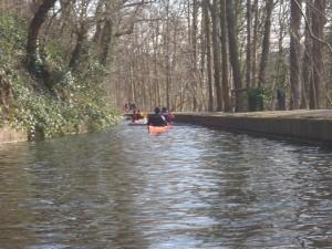 Llangollen canal Feb 2014
