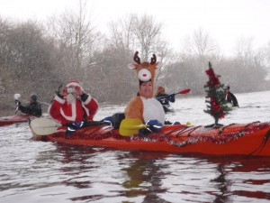 Our annual Christmas Paddle